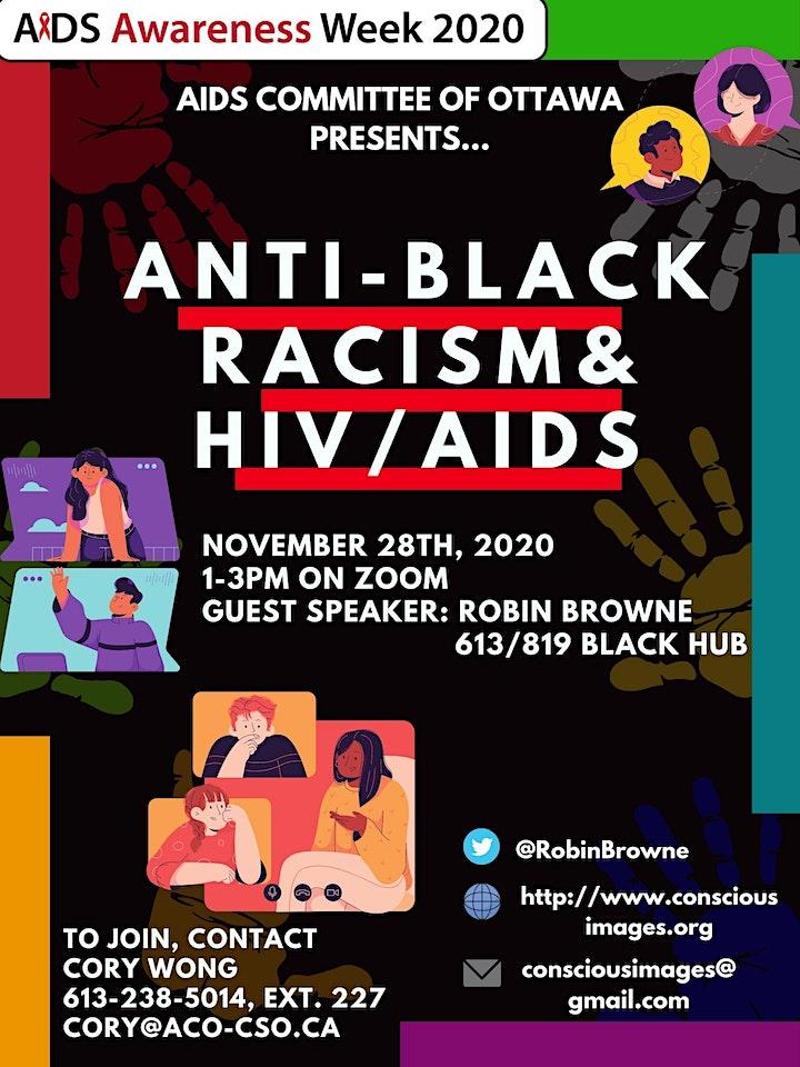 Anti-Black Racism & HIV/AIDS image