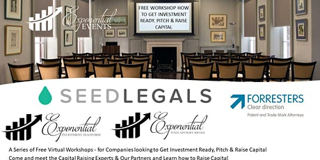 Our How to Raise Capital for Your Start Up Workshop is Back tickets