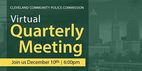 Cleveland Community Police Commission Quarterly Meeting tickets