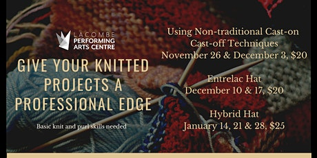 Give Your Knitted Projects a Professional Edge tickets