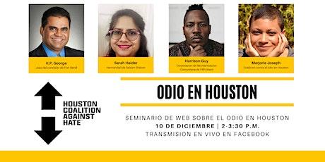 Seminario de web sobre en odio en Houston boletos