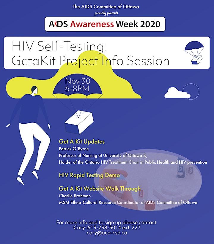 HIV Self-Testing: GetaKit Info Session image