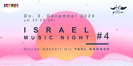 Israel Music Night # 4: YAEL BADASH Tickets