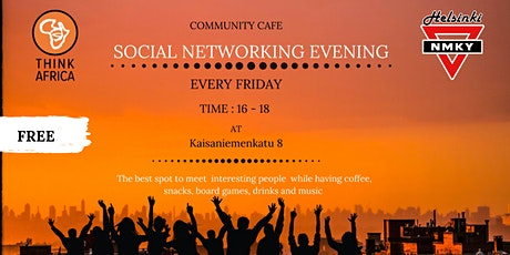 Community Café: Social Networking Evening tickets