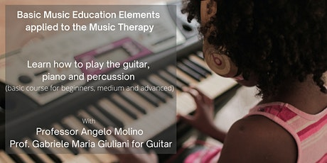 Basic Music Education Elements applied to the Music Therapy tickets