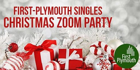 First-Plymouth Singles Christmas Zoom Party tickets