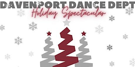 Davenport Dance Department Holiday Show tickets