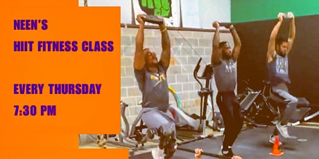 HIIT Fitness Class tickets