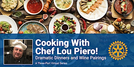 Cooking with Chef Lou Piero! tickets