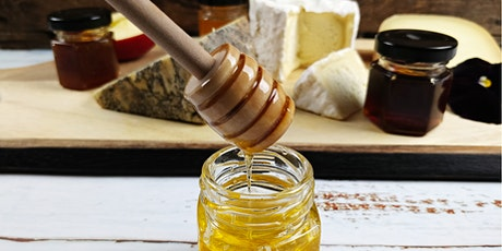 All about honey: virtual tasting & cheese pairing tickets