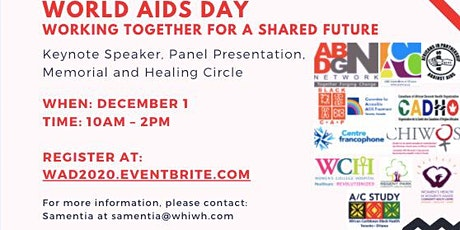 "World AIDS Day - ""Working Together For a Shared Future"" tickets"