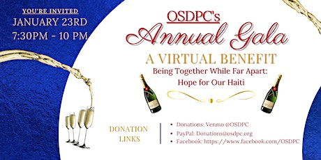 OSDPC's Annual Gala - A Virtual Benefit tickets