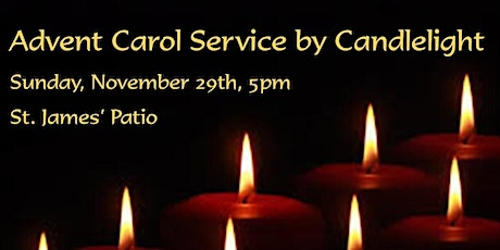 Advent Carol Service by Candlelight tickets