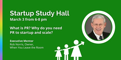 Virtual Startup Study Hall with Rob Norris tickets
