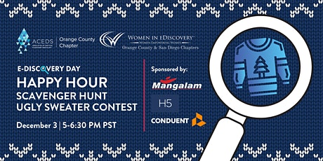 eDiscovery Day Happy Hour: Scavenger Hunt and Ugly Sweater Contest tickets