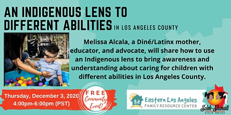An Indigenous Lens to Different Abilities tickets
