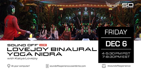 Virtual Binaural Yoga Nidra with Katya Lovejoy tickets