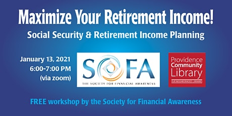 Maximize Your Retirement Income! tickets