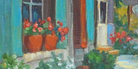 Rose and Renoir paint and sip classes- quaint French town tickets