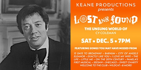 LOST & FOUND: The Unsung World of Cy Coleman tickets