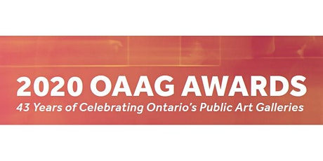 2020 OAAG Awards tickets