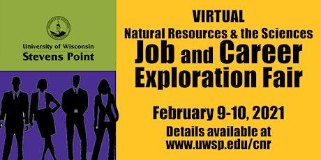 Virtual Natural Resources & the Sciences: Job & Career Exploration Fair entradas