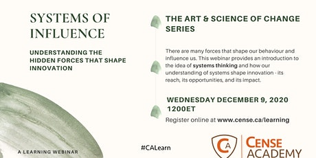 Systems of Influence: The Hidden Forces That Shape Innovation tickets