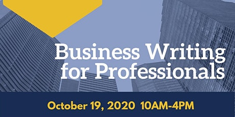 Business Writing for Professionals tickets