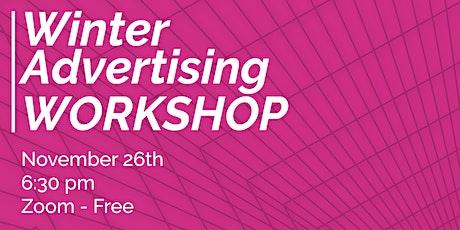 Winter Advertising Workshop tickets