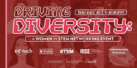 Driving Diversity (Holiday Edition):  Women in STEM Networking Event tickets
