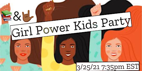 Kids (0-8) Girl Power Zoom Party tickets