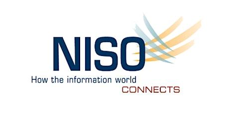 NISO Webinar: Workflows across Systems: Innovation biljetter