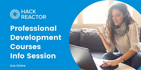 Professional Development Courses Info Session [Live Online] tickets