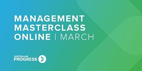 Management Masterclass Online | March billets