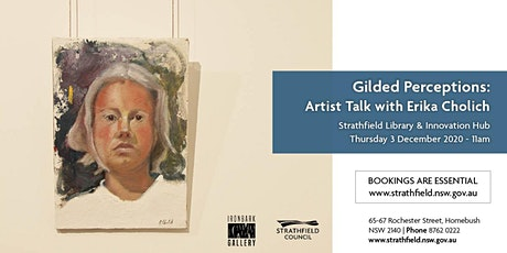 Gilded Perceptions: Artist Talk with Erika Cholich tickets