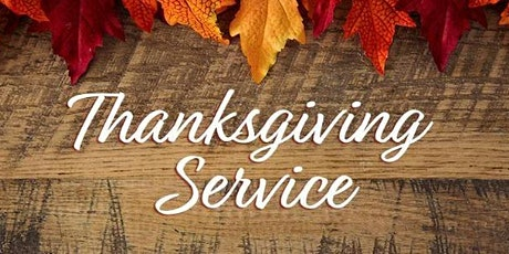 Annual Thanksgiving Service tickets