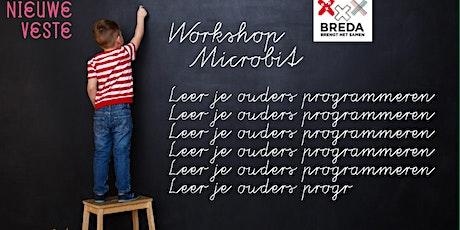 Workshop Micro:bit: leer je ouders programmeren! (online) tickets