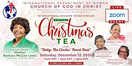 Bishops' Wives  Circles Virtual Christmas Tea tickets