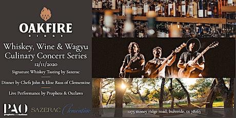 Whiskey, Wine, & Wagyu Concert Series tickets