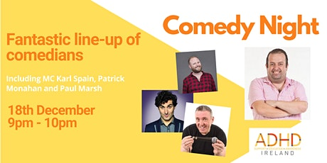 Free Comedy Night brought to you by ADHD Ireland tickets