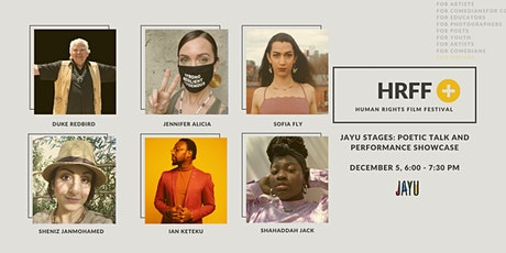 HRFF+ JAYU STAGES: Poetic Talk & Performance Showcase tickets