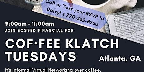 Cof·fee Klatsch for Small Businesses (Virtual Networking) - Atlanta, GA Tickets