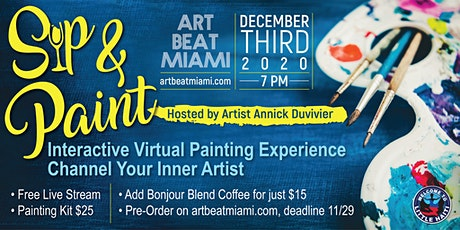 ART BEAT MIAMI  Sip & Paint 2020 tickets