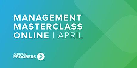 Management Masterclass Online | April tickets