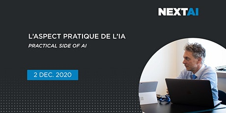 L'aspect pratique de l'IA | Practical Side of AI tickets