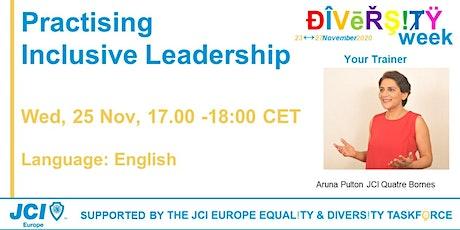 Practising Inclusive Leadership tickets