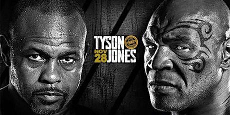 Watch Tyson vs Jones in Downtown Dallas at Frankie's! tickets