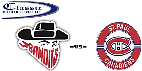 LLoydminster Classic Oilfiled Bandits VS St Paul Canadiens tickets