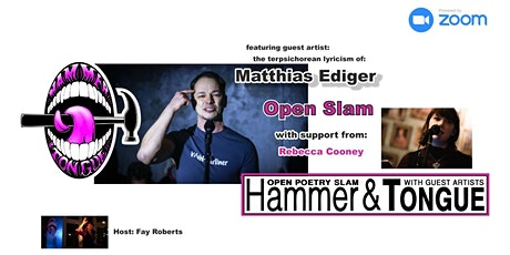 Hammer & Tongue Cambridge featuring Matthias Ediger and Rebecca Cooney tickets
