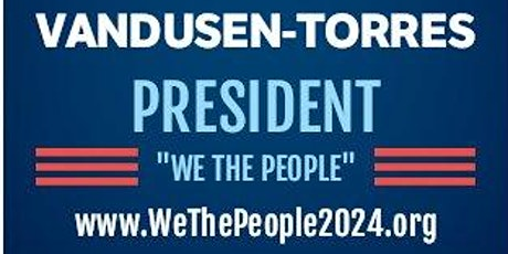 Vandusen-Torres For President Online Rally tickets